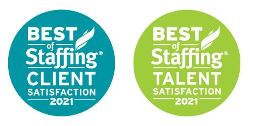 2021 Best Of Staffing Logos