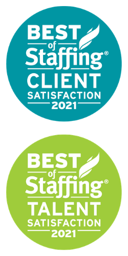 2021 Best Of Staffing Logos - NW Staffing Resources