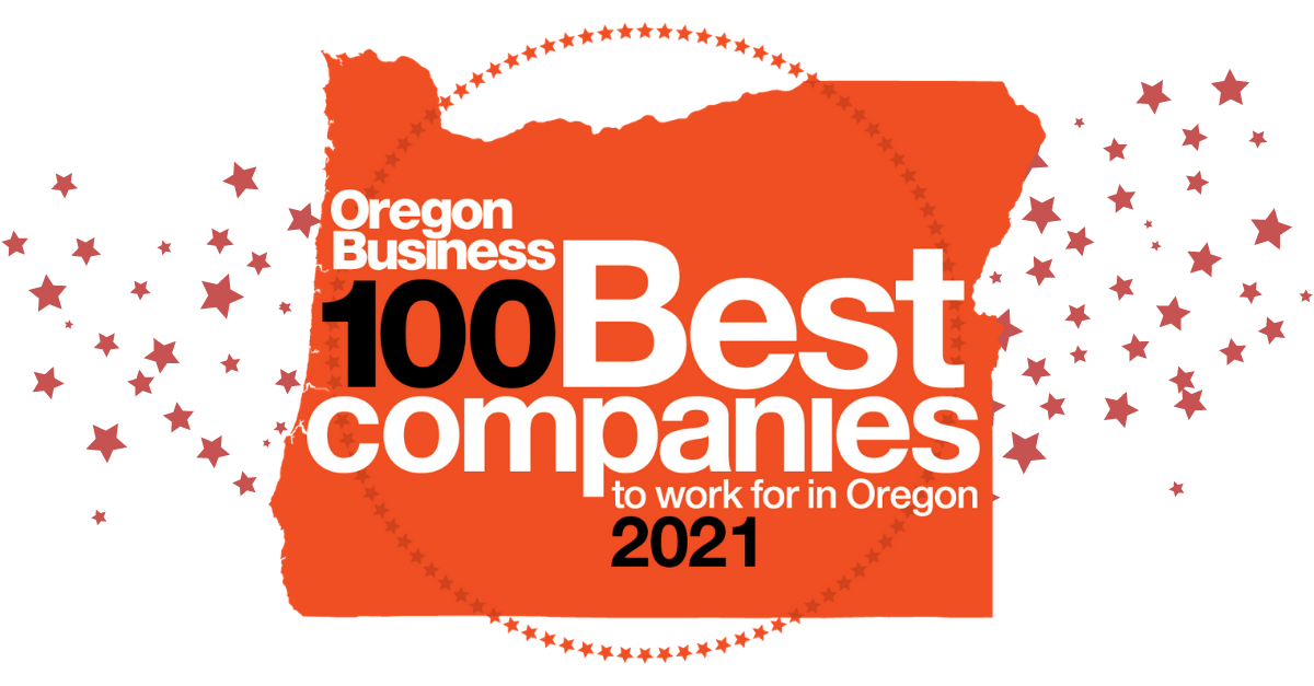 2021 100 Best Companies to work for in Oregon